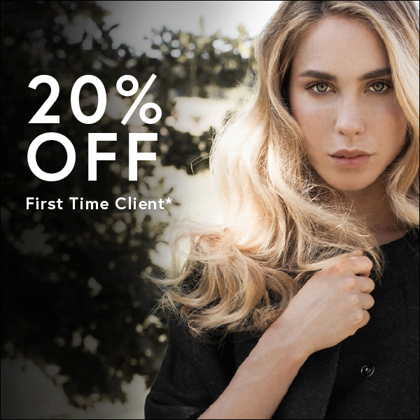 20% off first time clients